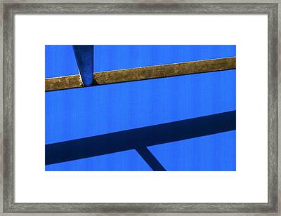 Framed Print featuring the photograph T Point by Prakash Ghai
