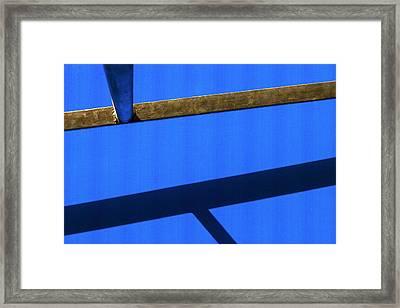 T Point Framed Print by Prakash Ghai