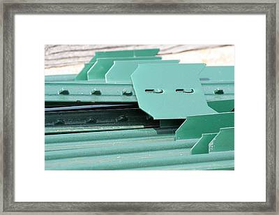 T Posts Framed Print by Laurie With