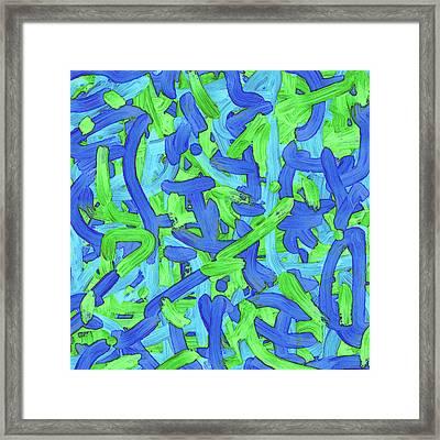 T U E - Soup Framed Print