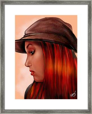 T-whizzle Framed Print by Pete Tapang