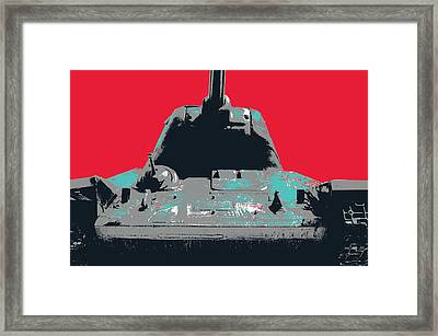 T34 Framed Print by Shay Culligan