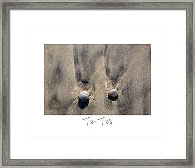 Ta-ta's Framed Print by Peter Tellone