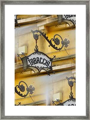 Tabacchi Framed Print by Joe  Geare