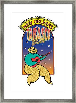 Tabasco Blues Framed Print
