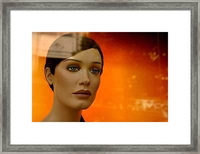Tabatha 7 Framed Print by Jez C Self