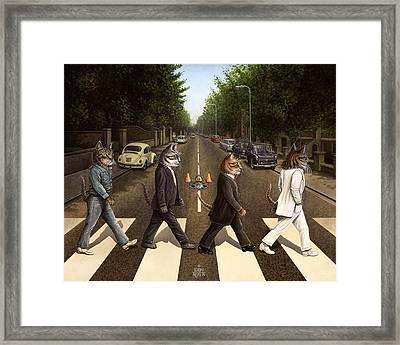 Tabby Road Framed Print