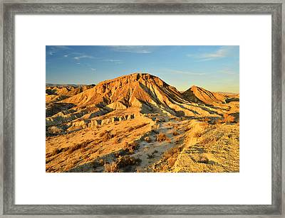 Tabernas Desert Almeria Spain Framed Print