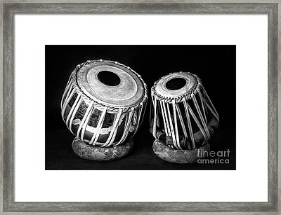 Tabla Framed Print by Charuhas Images
