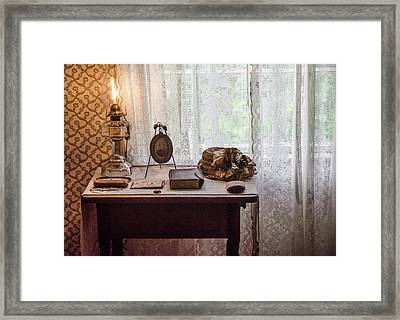 Framed Print featuring the photograph Table, Anne Of Green Gables by Rob Huntley