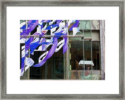 Framed Print featuring the photograph Table For Two by Chris Dutton