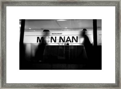 Framed Print featuring the photograph Table For Two by Valentino Visentini