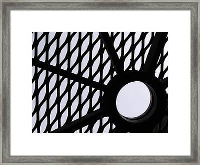 Table I Framed Print by Anna Villarreal Garbis