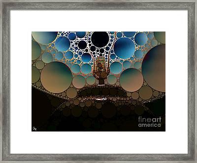 Table Lamp Framed Print