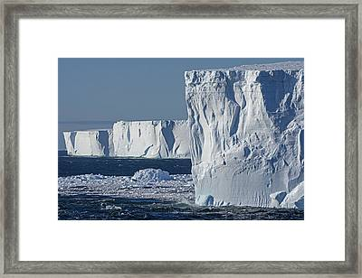 Table Lands Framed Print