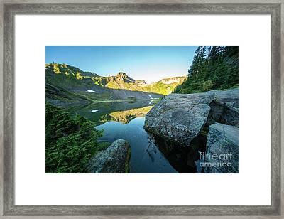 Table Mountain Golden Morning Framed Print