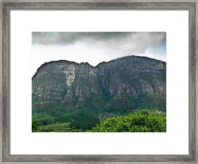 Table Mountain South Africa Framed Print by Douglas Barnett