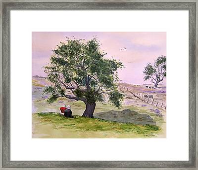 Table Moutain Framed Print by Robert Thomaston