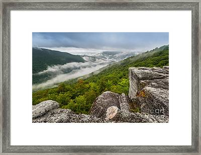 Table Rock D80002419 Framed Print by Kevin Funk