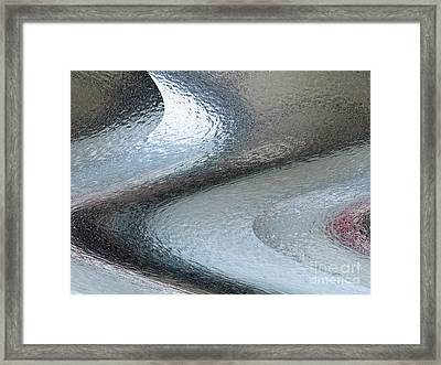 Tableau De Glace / Verglas Iv // Ice Painting / Glaze Iv Framed Print by Dominique Fortier