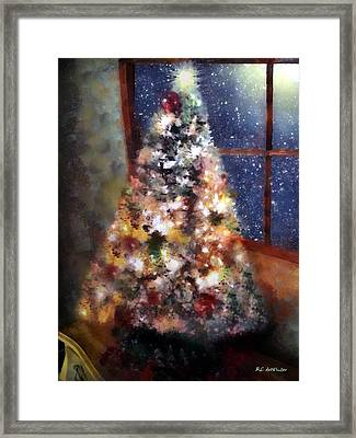 Tabletop Tannenbaum Framed Print