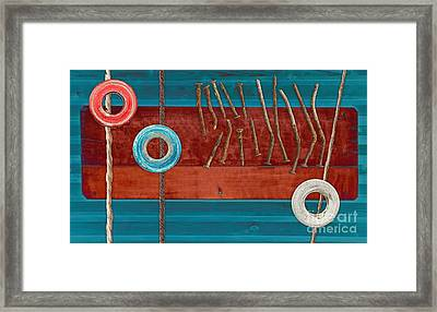 Tablo - 01a Framed Print by Variance Collections