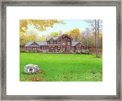 Taborton Lodge Framed Print by Albert Puskaric