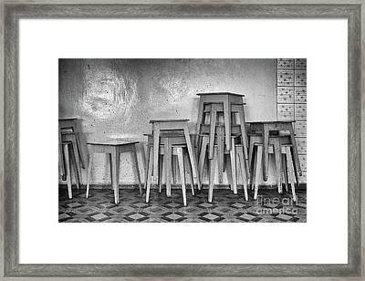 Tabourets #2830 Framed Print