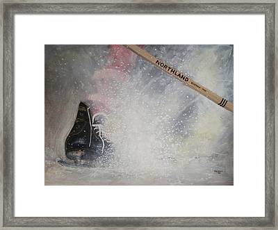 Tacks Framed Print