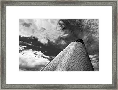 Tacoma Museum Of Glass Framed Print