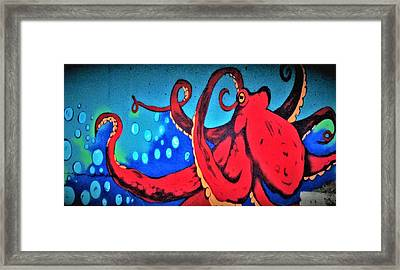Tacoma Octopus  Framed Print