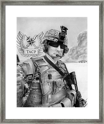 Tacp Framed Print by Lyle Brown