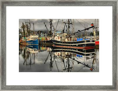 Tactician In The Harbor Framed Print by Adam Jewell