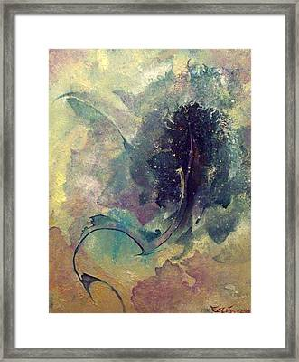 Tadpole Framed Print by Fred Wellner