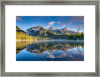 Taggart Lake Framed Print