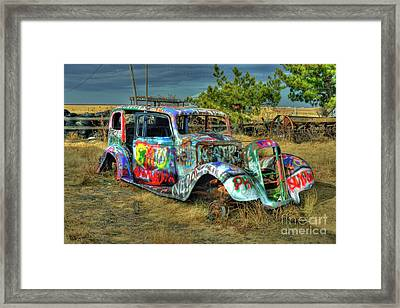 Tagged #3 Framed Print