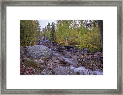 Taggert Creek Waterfall Framed Print