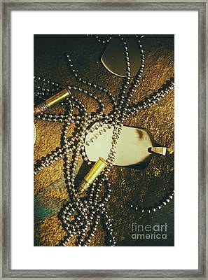 Framed Print featuring the photograph Tagging The Fallen by Jorgo Photography - Wall Art Gallery
