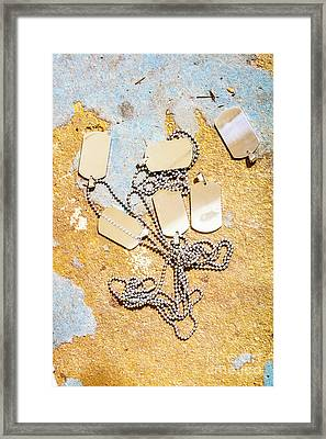 Tags Of War Framed Print by Jorgo Photography - Wall Art Gallery