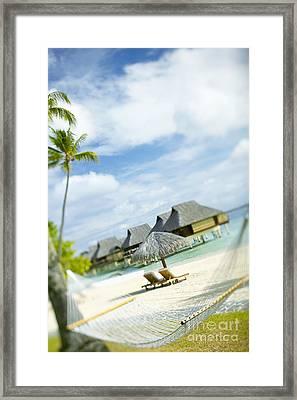 Tahiti, Bora Bora Framed Print by Kyle Rothenborg - Printscapes