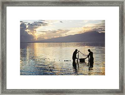 Tahiti, Moorea Framed Print by Mary Van de Ven - Printscapes