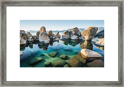 Tahoe Reflections Framed Print