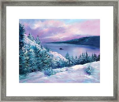 Tahoe Framed Print by Sally Seago