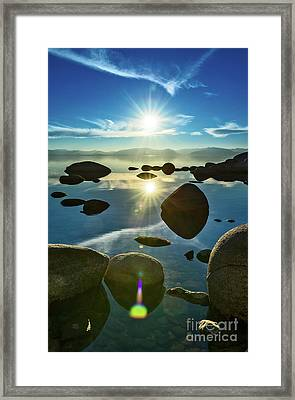 Tahoe Star Framed Print
