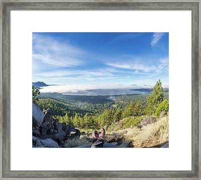 Tahoe Under Cover Framed Print