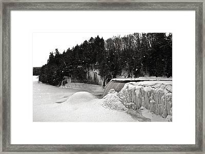 Tahquamen Falls 5 Framed Print