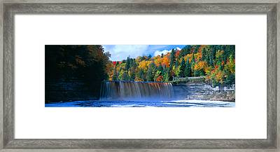 Tahquamenon Fall State Park. Inspired Framed Print by Panoramic Images