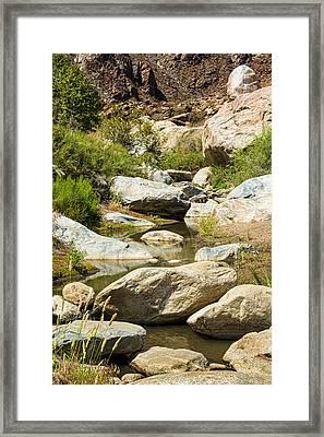 Tahquitz Creek Framed Print by Kelley King