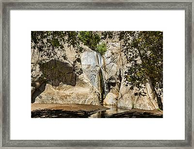 Tahquitz Falls Framed Print by Kelley King