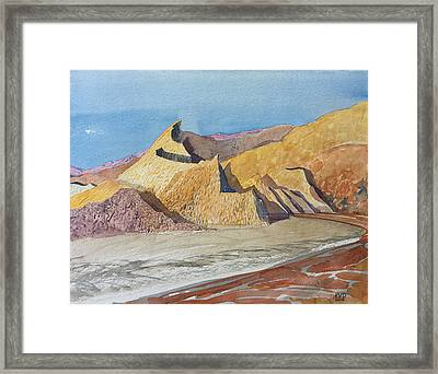 Tahquitz Sunrise Framed Print by Vaughan Davies